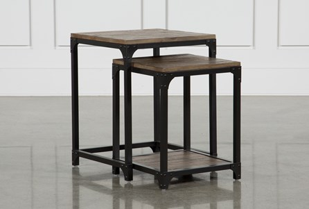 Display product reviews for FOUNDRY NESTING END TABLES