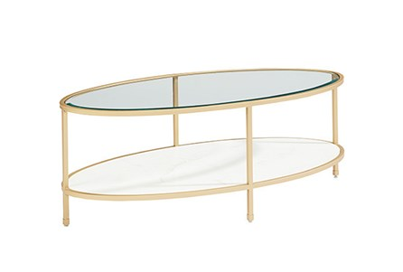 Display product reviews for MAGNOLIA HOME ELLIPSE COFFEE TABLE BJG