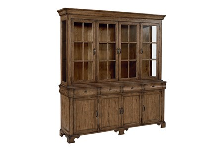 Display product reviews for KIT-MAGNOLIA HOME SHOWCASE HUTCH AND BUFFET BJG