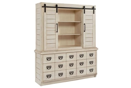 Display product reviews for KIT-MAGNOLIA HOME ARCHIVE HUTCH AND BUFFET BJG