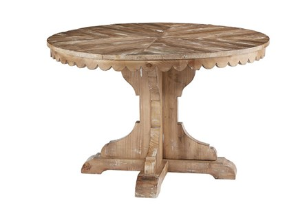 Display product reviews for MAGNOLIA HOME TOP TIER ROUND DINING TABLE BJG