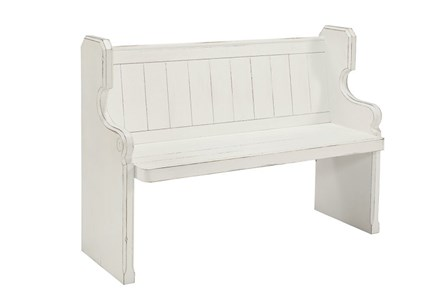 Display product reviews for MAGNOLIA HOME PEW BENCH BJG