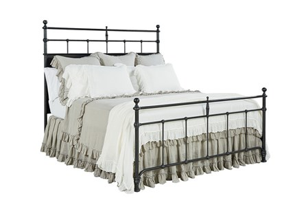 Display product reviews for KIT-MAGNOLIA HOME TRELLIS QUEEN PANEL BED BJG