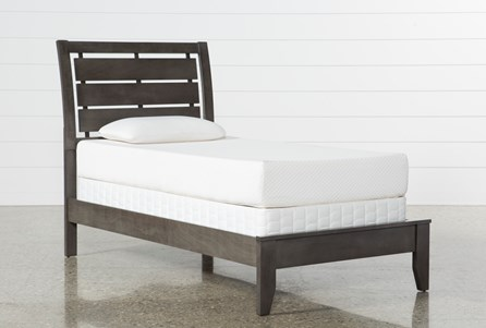 Display product reviews for KIT-CHAD GREY TWIN PANEL BED