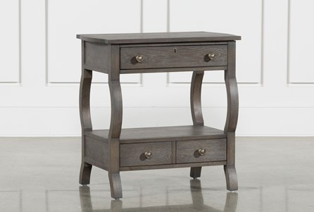 Display product reviews for CANDICE II 2-DRAWER NIGHTSTAND