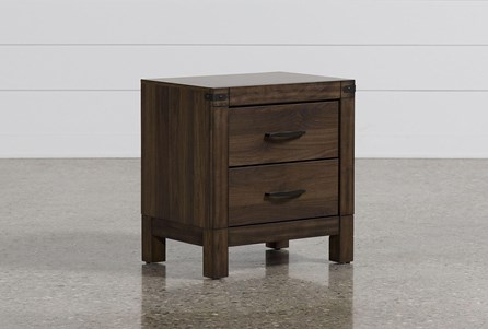 Display product reviews for WILLOW CREEK II 2-DRAWER NIGHTSTAND
