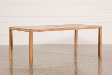 Display product reviews for OUTDOOR SIENNA DINING TABLE