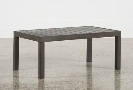 Outdoor Patio Furniture Living Spaces - Outdoor rectangular coffee table cover