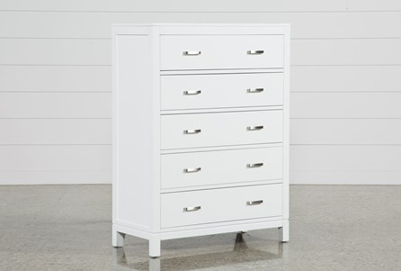 Display product reviews for HAYDEN WHITE CHEST OF DRAWERS