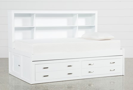 Display product reviews for KIT-HAYDEN WHITE TWIN ROOMSAVER BED