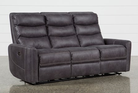 Display product reviews for MALIA POWER RECLINING SOFA