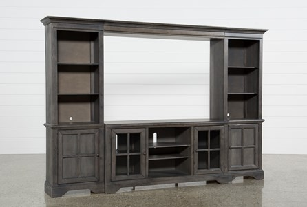Display product reviews for KIT-PRESTON 4 PIECE ENTERTAINMENT CENTER