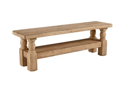 Display product reviews for MAGNOLIA HOME DANISH HALL BENCH BJG