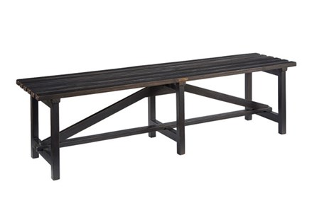Display product reviews for MAGNOLIA HOME OPEN SLAT BENCH BJG