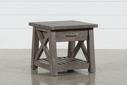 Display product reviews for JAXON GREY END TABLE