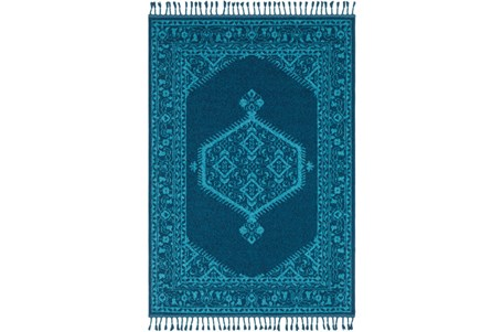 Display product reviews for 94X120 RUG-HADID FRINGE VIBRANT BLUE