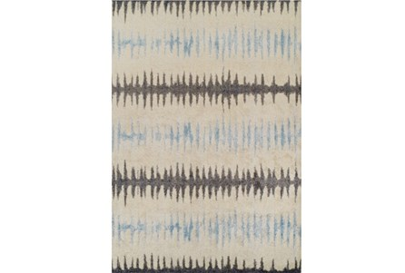 Display product reviews for 59X84 RUG-TEXTURED WAVES GREY/BLUE