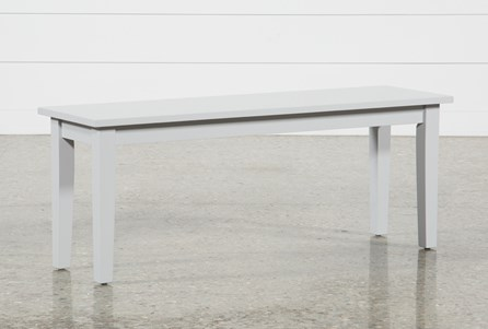Display product reviews for LINDY DOVE GREY BENCH