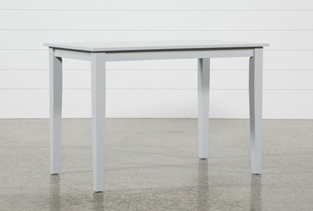 Display product reviews for LINDY DOVE GREY COUNTER TABLE
