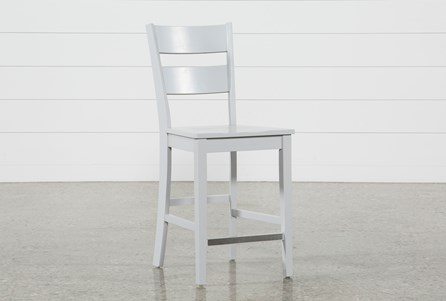 Display product reviews for LINDY DOVE GREY COUNTER STOOL