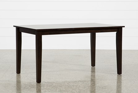 Display product reviews for LINDY ESPRESSO RECTANGLE DINING TABLE