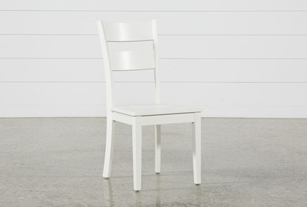 Display product reviews for MANDY PAPER WHITE SIDE CHAIR