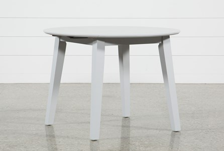 Display product reviews for MOXY DOVE GREY ROUND DINING TABLE