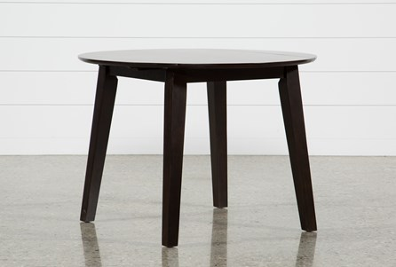 Display product reviews for MOXY ESPRESSO ROUND DINING TABLE