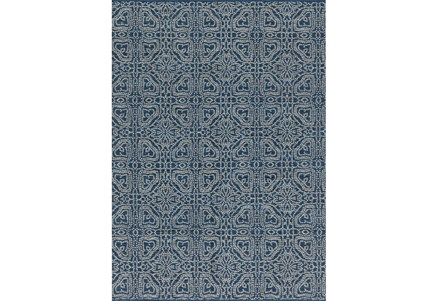 Display product reviews for 93X117 RUG-MAGNOLIA HOME EMMIE KAY NAVY/CREAM BJG