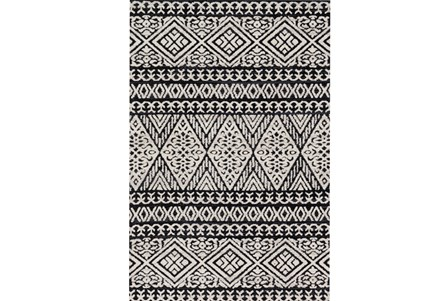 Display product reviews for 93X117 RUG-MAGNOLIA HOME LOTUS DIAMOND BLACK/SILVER BJG