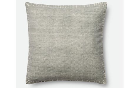 Display product reviews for ACCENT PILLOW-MAGNOLIA HOME SILVER/WHITE WHIPSTITCH 22X22 BJG
