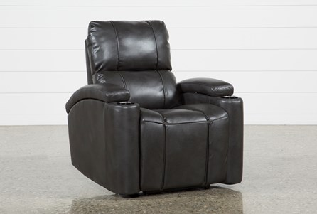 Display product reviews for LANDAU SLATE POWER RECLINER