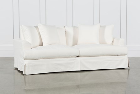 Display product reviews for SOLANO SLIPCOVERED SOFA