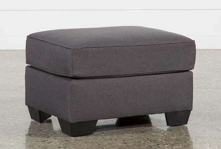 Display product reviews for MCDADE GRAPHITE OTTOMAN