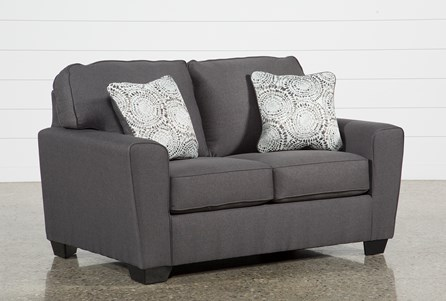 Display product reviews for MCDADE GRAPHITE LOVESEAT