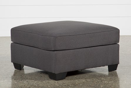 Display product reviews for MCDADE GRAPHITE OVERSIZED ACCENT OTTOMAN