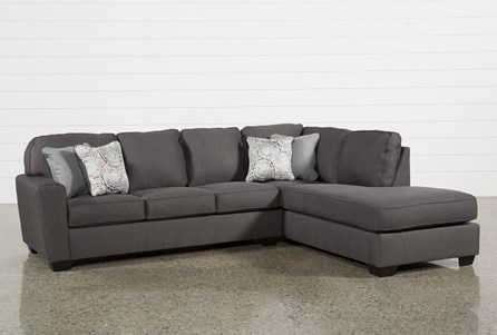 Display product reviews for KIT-MCDADE GRAPHITE 2 PIECE SECTIONAL W/RAF CHAISE