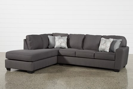 Display product reviews for KIT-MCDADE GRAPHITE 2 PIECE SECTIONAL W/LAF CHAISE