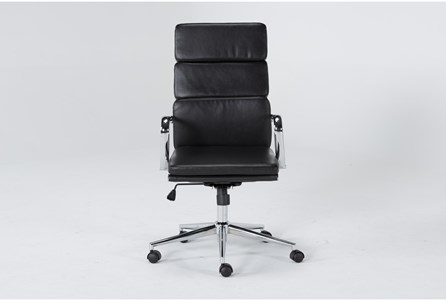 Display product reviews for MOBY BLACK HIGH BACK OFFICE CHAIR