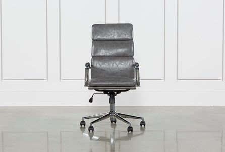 Display product reviews for MOBY GREY HIGH BACK OFFICE CHAIR
