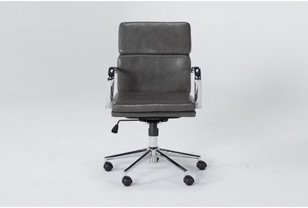 Display product reviews for MOBY GREY LOW BACK OFFICE CHAIR