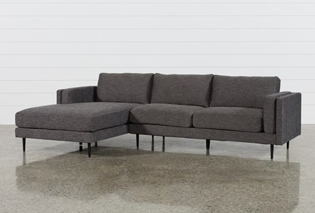 Display product reviews for KIT-AQUARIUS DARK GREY 2 PIECE SECTIONAL W/LAF CHAISE