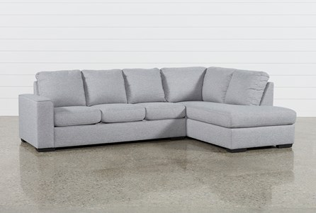 Display product reviews for KIT-LUCY GREY 2 PIECE SECTIONAL W/RAF CHAISE