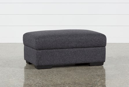 Display product reviews for LUCY DARK GREY COCKTAIL STORAGE OTTOMAN