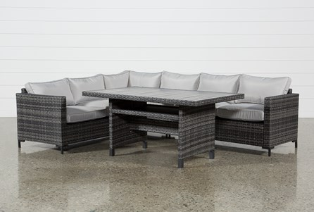 Display product reviews for KIT-OUTDOOR DOMINGO BANQUETTE LOUNGE