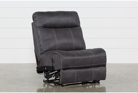Display product reviews for DENALI CHARCOAL GREY ARMLESS RECLINER