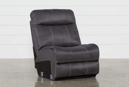 Display product reviews for DENALI CHARCOAL GREY ARMLESS CHAIR