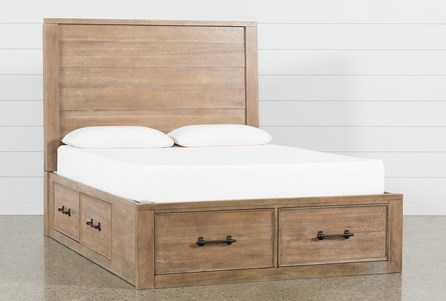 Display product reviews for KIT-CONRAD EASTERN KING PANEL BED WITH STORAGE