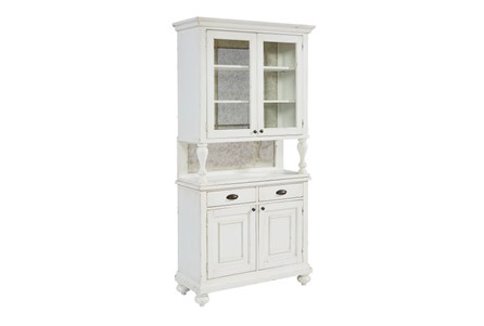 Display product reviews for KIT-MAGNOLIA HOME DISH CABINET AND HUTCH BJG
