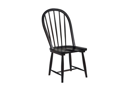 Display product reviews for MAGNOLIA HOME WINDSOR JO'S BLACK HOOP CHAIR BJG
